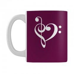 music heart rock baseball Mug   Artistshot