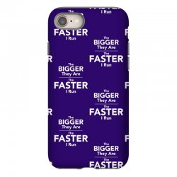 the bigger they are the faster iPhone 8 Case | Artistshot