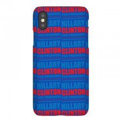 Hillary Clinton For President iPhoneX Case | Artistshot