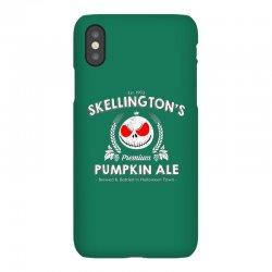 Skellington'spumpkin ale iPhoneX | Artistshot