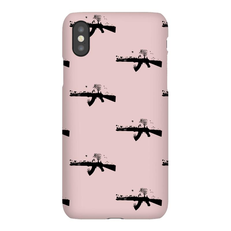 Custom Banksy Style Ak47 Art Funny T Shirt Satire War Peace Love