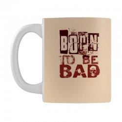 funny mens t shirt born to be bad Mug   Artistshot