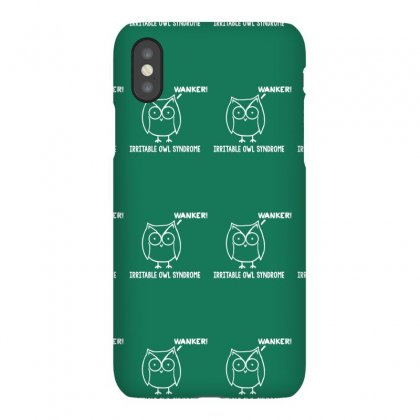 Irritable Owl Syndrome Iphonex Case Designed By Gematees
