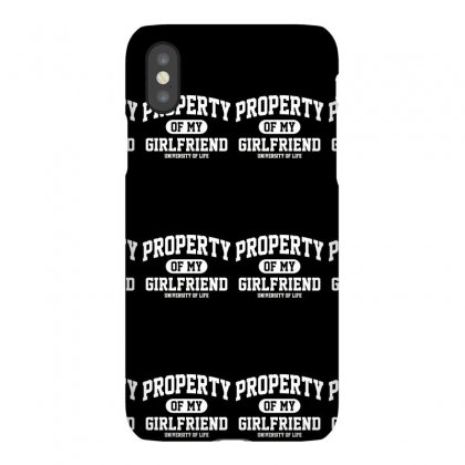 Property Of My Girlfriend Funny Iphonex Case Designed By Gematees