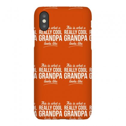 Really Cool Grandpa Iphonex Case Designed By Gematees