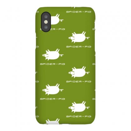 Spider Pig Iphonex Case Designed By Gematees
