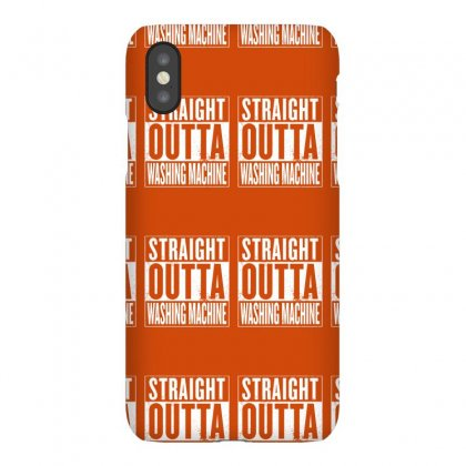 Straight Outta Washing Machine Iphonex Case Designed By Gematees