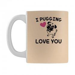 love you  pug Mug | Artistshot