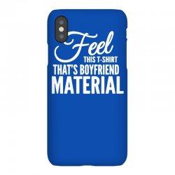 funny tshirts   i love it when my boyfriend iPhoneX Case | Artistshot