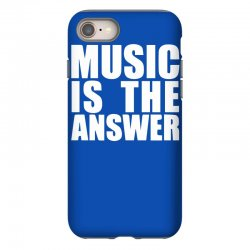 music is the answer printed iPhone 8 Case | Artistshot