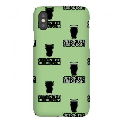 Get On The Beers Son! Iphonex Case Designed By Gematees