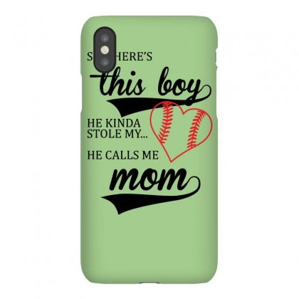 He Calls Me Mom Cute Iphonex Case Designed By Gematees