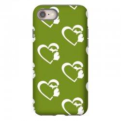 michigan heart love iPhone 8 Case | Artistshot