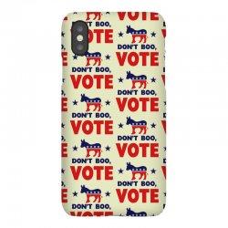 Don't Boo Vote 02 iPhoneX Case | Artistshot