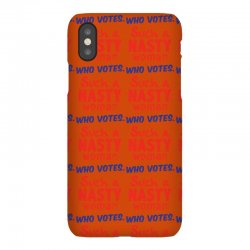 Such A Nasty Woman.. Who Vote? iPhoneX Case | Artistshot