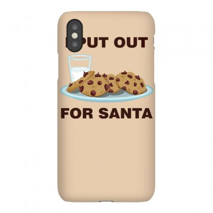 I Put Out For Santa Iphonex Case Designed By Gematees
