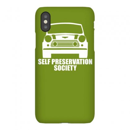 Self Preservation Society Iphonex Case Designed By Gematees