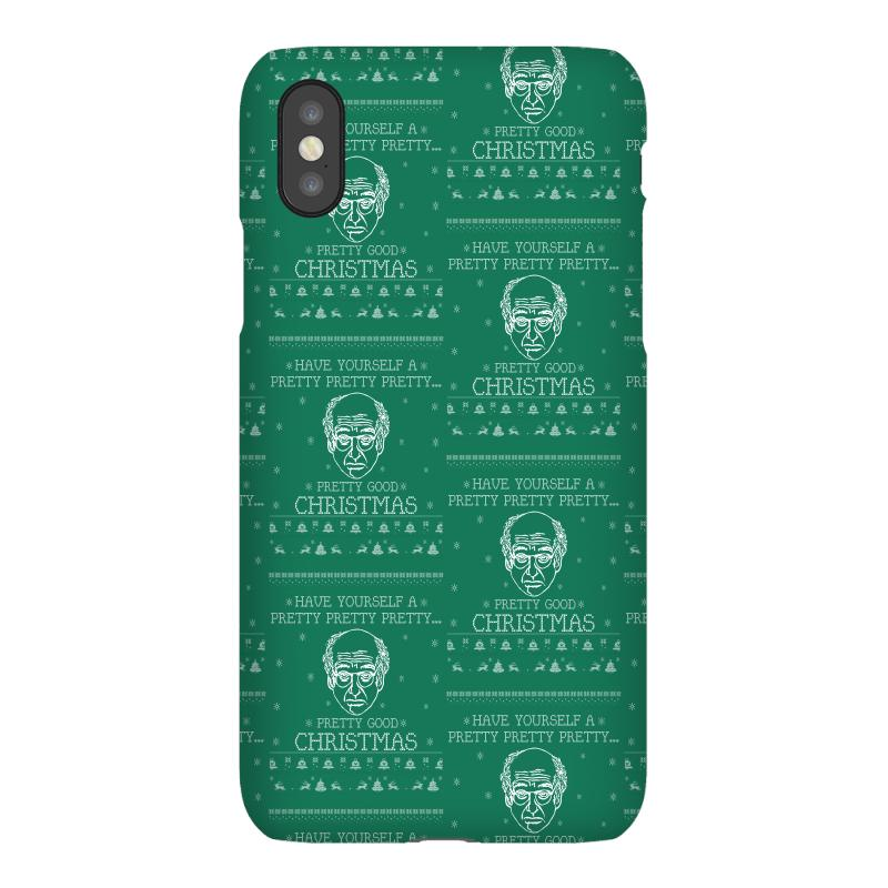 Custom Larry David Pretty Good Christmas Ugly Sweater Iphonex By