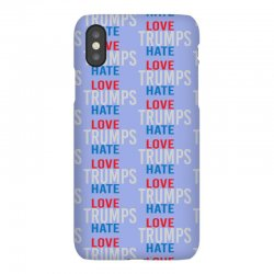 LOVE TRUMPS HATE iPhoneX Case | Artistshot