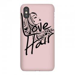 love is in the hair iPhoneX Case   Artistshot