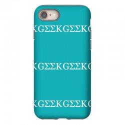 geek greek iPhone 8 Case | Artistshot