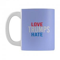 LOVE TRUMPS HATE Mug | Artistshot