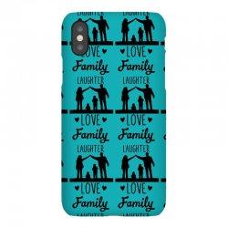 love family laughter iPhoneX Case   Artistshot