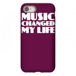 music changed my life iPhone 8 Case | Artistshot