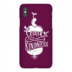 love cultivate kindness iPhoneX Case | Artistshot