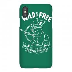 wild and free iPhoneX Case | Artistshot