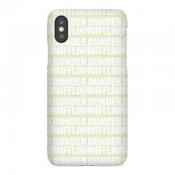 dunder mifflin iPhoneX | Artistshot