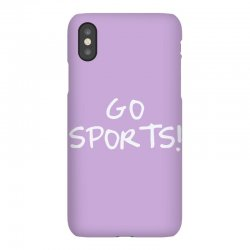 go sports! iPhoneX Case   Artistshot