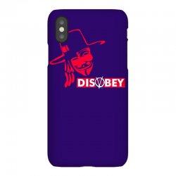 disobey joke politics iPhoneX Case | Artistshot
