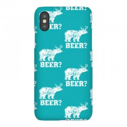 funny beer bear iPhoneX Case | Artistshot