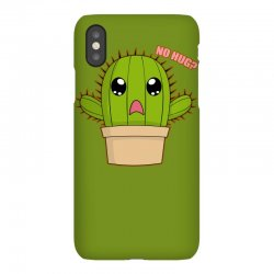 funny cactus hug iPhoneX Case | Artistshot
