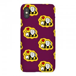 love bee lover valentine iPhoneX Case | Artistshot