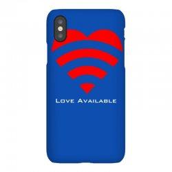 love broadcast iPhoneX Case | Artistshot