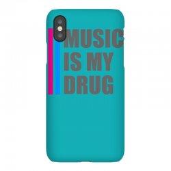 music is my drug iPhoneX Case | Artistshot