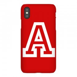 A Initial Name iPhoneX Case | Artistshot