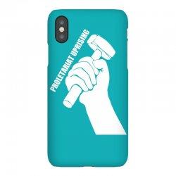 proletariat uprising revolution politics iPhoneX Case   Artistshot