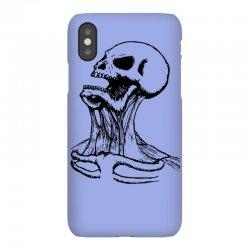 screaming skull iPhoneX Case | Artistshot