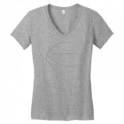 basketball sport bball streetball sportswear usa baskets ball Women's V-Neck T-Shirt | Artistshot