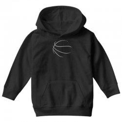 basketball sport bball streetball sportswear usa baskets ball Youth Hoodie | Artistshot