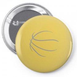 basketball sport bball streetball sportswear usa baskets ball Pin-back button | Artistshot