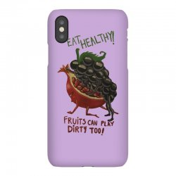 eat fruits iPhoneX Case | Artistshot