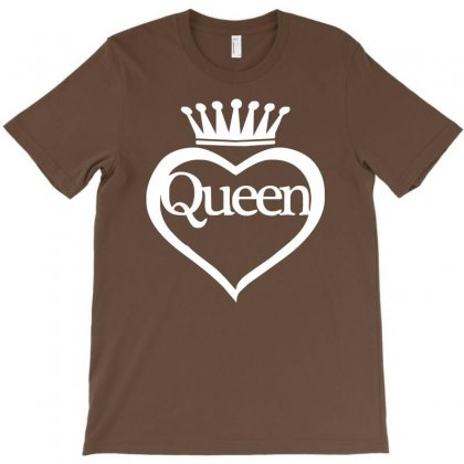 Funny  Queen Of Everything Gift Bride Honeymoon Hen Night Fashion Fema T-shirt Designed By Syarip