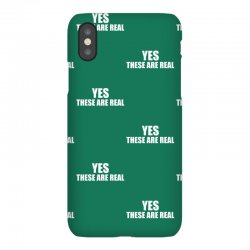 yes these are real funny iPhoneX Case | Artistshot