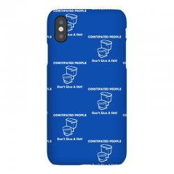 constipated people iPhoneX Case | Artistshot