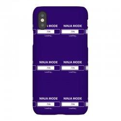 ninja mode loading iPhoneX Case   Artistshot