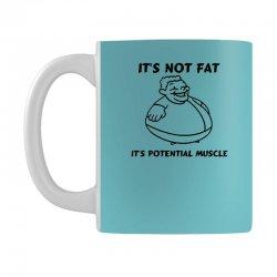 it's not fat, it's potential muscle Mug   Artistshot